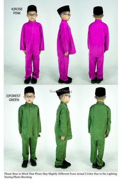 CY V1153 PASANG BAJU MELAYU MUSLIM WEAR MUSLIMIN BUDAK BOY KID