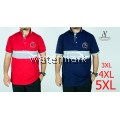 CY 90520 PLUS SIZE MAN CASUAL POLO COLAR SHIRT BIG / T.SHIRT POLO SIZE BESAR