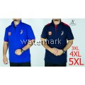 CY 90515 PLUS SIZE MAN CASUAL POLO COLAR SHIRT BIG / T.SHIRT POLO SIZE BESAR