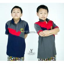 CY 90518 CHILDREN KID CASUAL POLO COLAR SHIRT BIG / T.SHIRT POLO BUDAK
