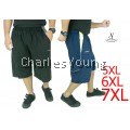 CY 1843 PLUS SIZE KPOP EXERCISE GYM BASKETBALL SHORT PANT/ SELUAR SIZE BESAR