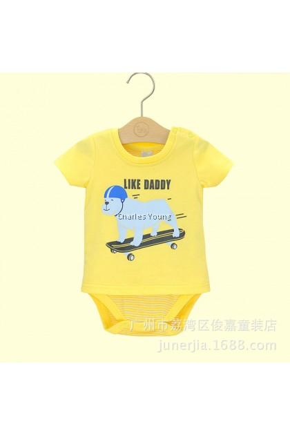 CY 154418 ROMPER BABY INBEBE SHORT SLEEVE