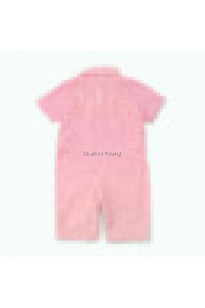 CY 154424 ROMPER BABY INBEBE SHORT SLEEVE SMALL STRIPE BELANG