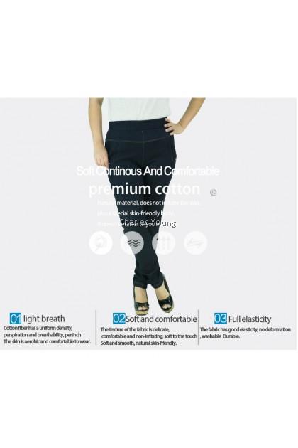 CY 8820 PLUS SIZE WOMAN CASUAL STRECTAHBLE LONG PANTS BIG  SELUAR PANJANG SIZE BESAR  XXL 3XL 4XL ll
