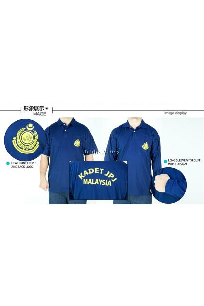 CY 2907 SCHOOL UNIFORM T.SHIRT KADET JPJ MALAYSIA
