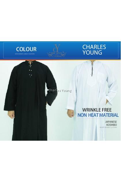 CY 618 JUABH MODERN DEWASA BAJU MELAYU MUSLIM MUSLIMIN WEAR / WHITE ROBE