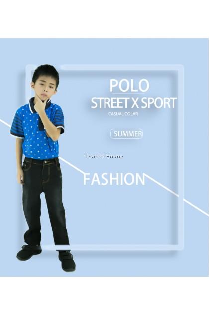 CY 656 CHILDREN KID CASUAL POLO COLAR SHIRT BIG / T.SHIRT POLO BUDAK