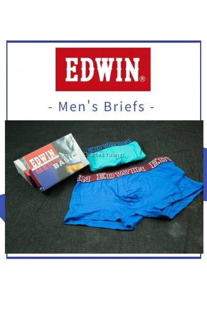 100% ORIGINAL EDWIN MAN UNDERWEAR BRIEF / SELUAR DALAM LELAKI / 100% COTTON / MAN BOXER / BOXER LELAKI