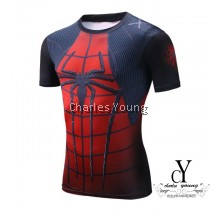 CY-6801,QUICK,DRY,CASUAL,SUPERHERO,SHIRT,SPIDERMAN,MARVEL,3D,PRINT