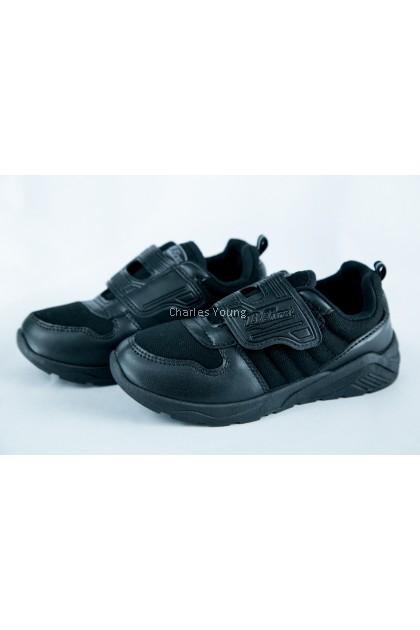 100% Original Bata Bfirst 6722 Black Shoe   Kasut Sekolah Bata Hitam