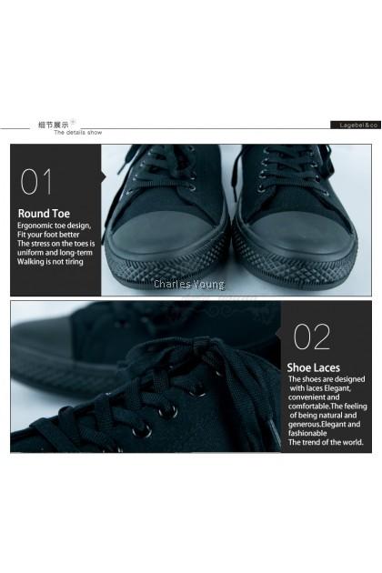 100% Original Asadi 6557 Black Shoe | Kasut Sekolah Asadi Hitam