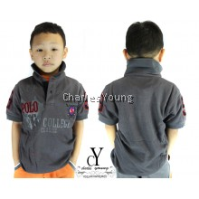 cy-84040 SHIRT,BUDAK,POLO,KIDS,COLAR,CHILDREN,BOY,84040