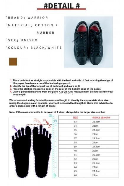 100% Original Warrior WB-8 Sepak Takraw Shoe   Kasut Sepak Takraw WARRIOR Black / White