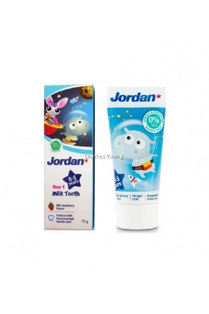 Jordan Step 1 Milk Teeth Toothpaste 75g (0-5 Years)