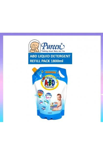 Pureen Anti Bacterial Liquid  Detergent  A-B-D Refill Pack(1800ml)