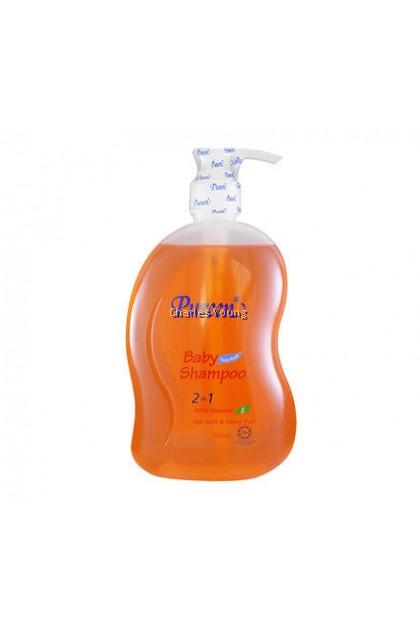 Pureen Baby Shampoo 2 in 1 with Vitamin E ( 750ml)