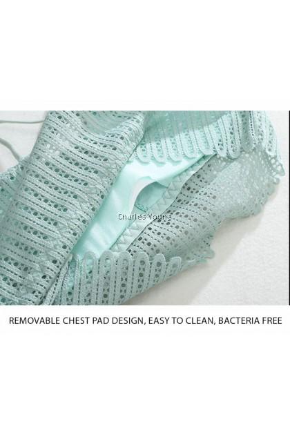 CY 8405 High Quality Women Seamless Sport Underwear Gym Yoga Wireless Bratop Bra Removable Pad Singlet / 无钢圈吊带女背心女