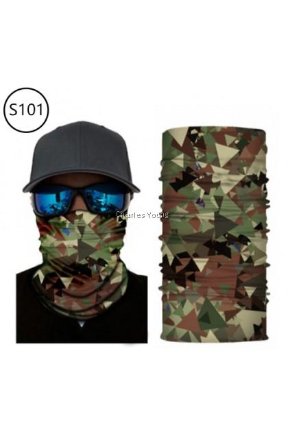 CY 164417a  3D Punisher Mask Bandana Venom Neck Face Mask Hiking Scarves Headband Ski / Rider Mask / Food Delivery