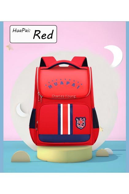 164275b Polyester Fashion School Backpack Aesthetic Softback Korean Style Backpack High Capacity / Beg Sekolah