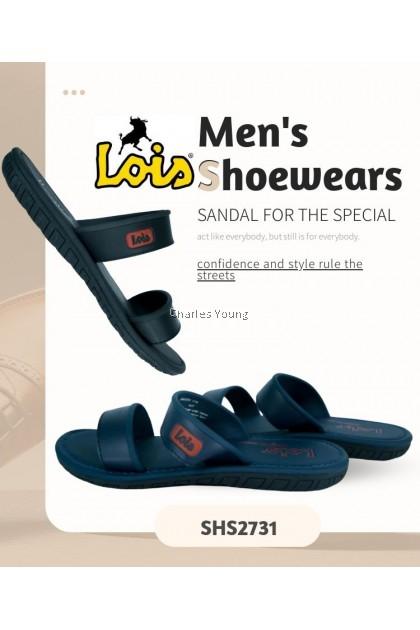 CY 2731 100% Original LOIS Genuine Leather Sandal / Sandal Lelaki Lois