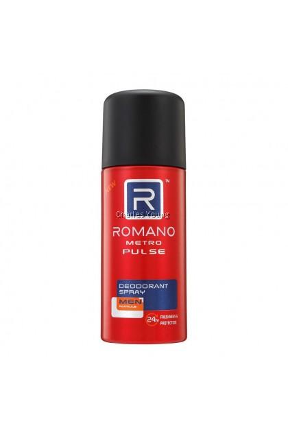 Romano Metro Pulse Deodorant Spray (150ml)