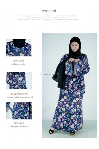 CY MJ200903 Baju Raya 2021 | Sedondon Family Baju Kurung | Set Kurung Sedondon Ibu Anak | Pasang Baju Kurung Batik Kedah
