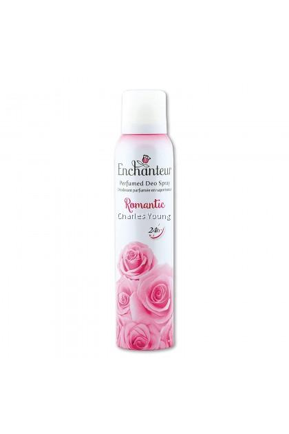 Enchanteur Romantic Perfumed Deo Spray (75ml)
