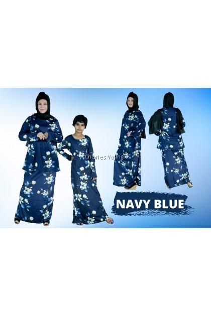 CY MJ200905 Baju Raya 2021 | Sedondon Family Baju Kurung | Set Kurung Sedondon Ibu Anak | Pasang Baju Kurung Batik Kedah