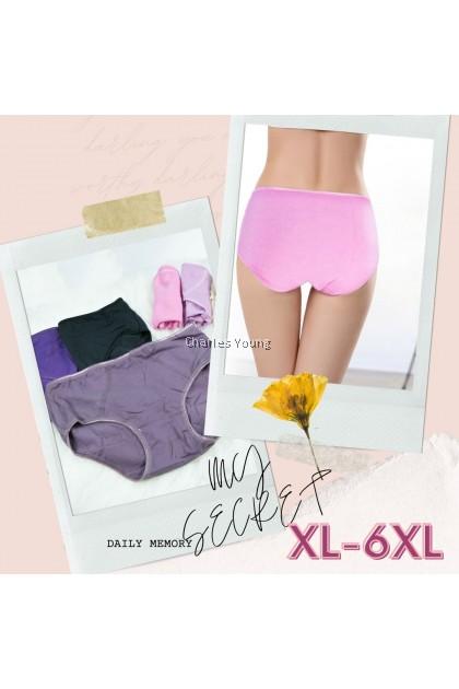 CY  2120 Plus Size Panties Spender Seluar Dalam Perempuan Wanita Moden / Woman Underwear / Seluar Dalam besar