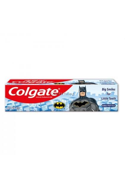 Colgate Batman Bubble Fruit Flavor Cavity Protect Toothpaste for kids (40g)
