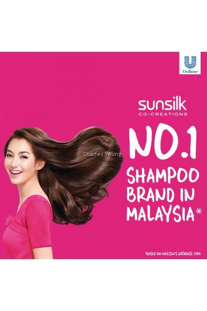 SUNSILK Black Shine Shampoo 70ML 160ML 320ML 650ML