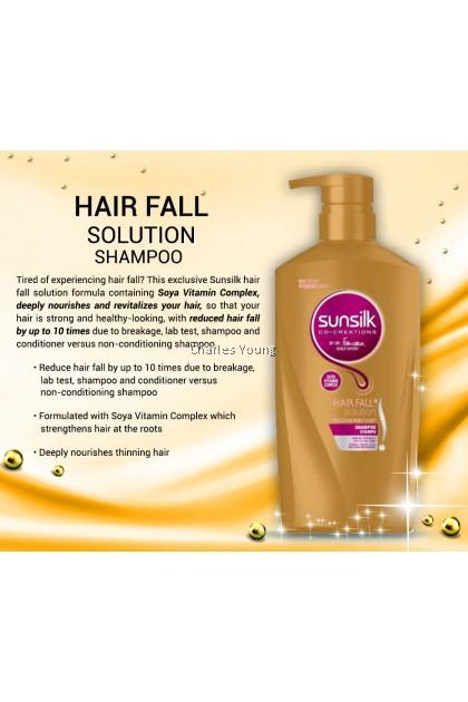 SUNSILK Hair Fall Solution Shampoo 160ML 320ML 650ML