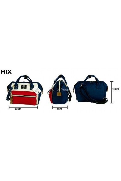 (NEW RESTOCK) CY-615M ANELLO,3,WAY,BAG,HANDBAG,SLINGBAG,BACKPACK
