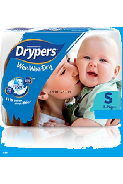 Drypers Wee Wee Dry  NB(24pcs) / S(22pcs)