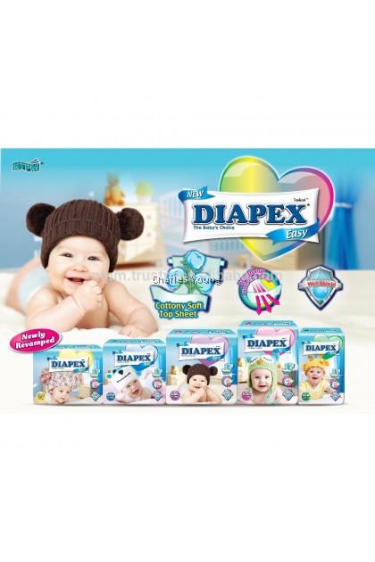 DIAPEX Easy Tape S(24pcs) / M(22pcs) / L(20pcs) / XL(18PCS) / XXL(14pcs)