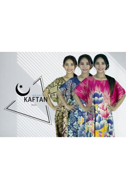 CY 21682 LADIES NIGHTWEAR KAFTAN / KAFTAN DEWASA / GAUN TIDUR PEREMPUAN / BAJU KAFTAN / BATIK KELAWAR A-F