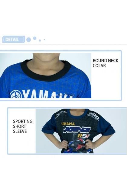 CY  52214 Gym Shirt Kids Fitness Shirts Sportwear / Baju Malaysia Budak / Baju Sukan Budak / Baju Sukan Budak