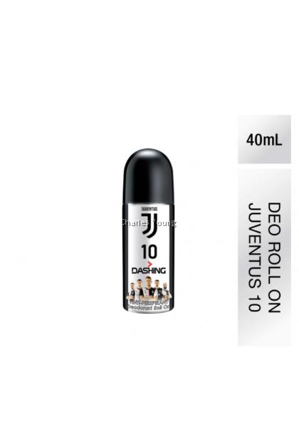 Dashing Juventus 10 Anti-Perspirant Deodorant Roll On (40ml)