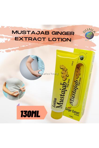 MUSTAJAB Ginger Extract Lotion (130ML)