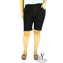 CY-515 WOMAN CASUAL SHORT PANTS BIG SIZE SELUAR SIZE BESAR XXXL XXXXL
