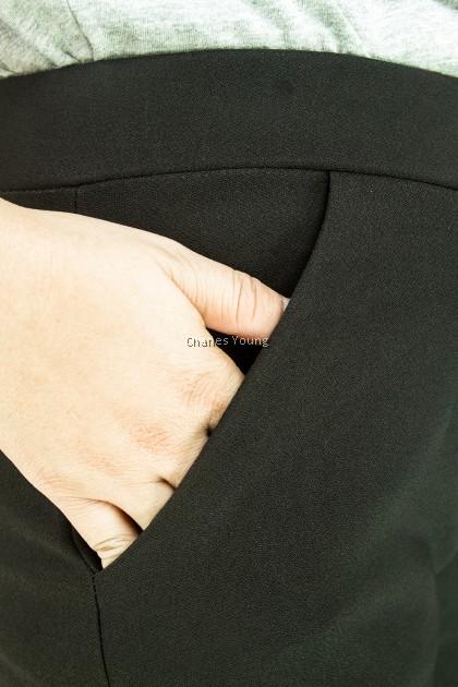 CY 911 WOMAN CASUAL PANTS,BIG SIZE SELUAR SIZE BESAR XXXL