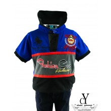 CY-60276 SHIRT BUDAK POLO KIDS COLAR CHILDREN BOY
