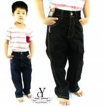 CY-1110 CHILDREN KIDS BOY GIRLS LONG DENIM JEANS PANT