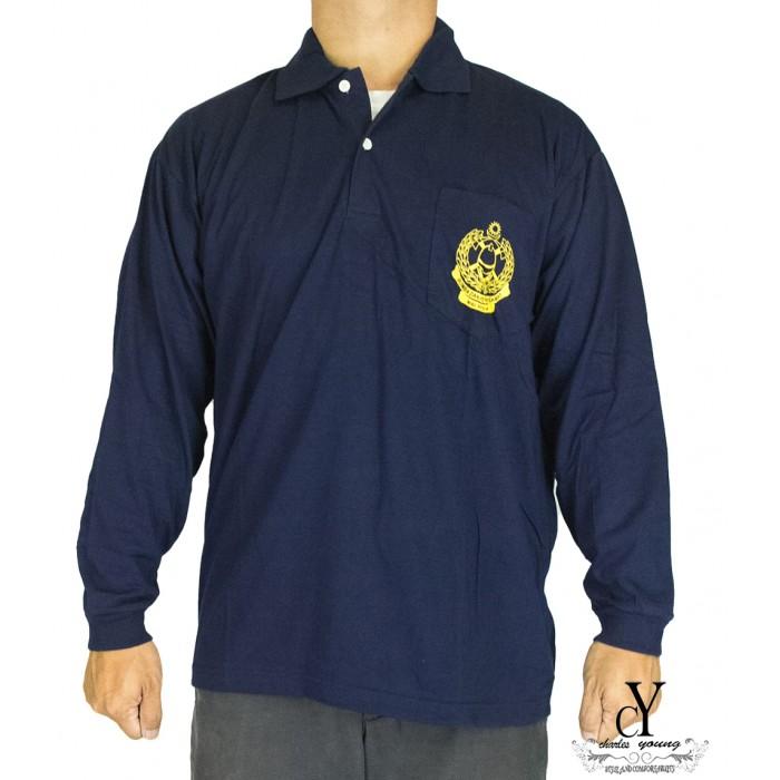 Cy 2907 School Uniform T Shirt Kadet Bomba Dan Penyelamat Malaysia