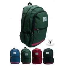 CY 003 LEISURE TRAVEL CASUAL  TRENDY LAPTOP SCHOOL BAG SEKOLAH HERSCHEL