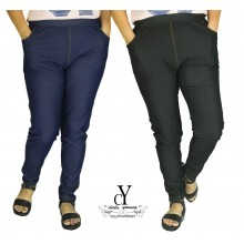 CY 2155-1 WOMAN CASUAL PANTS,BIG PLUS SIZE SELUAR SIZE BESAR XXXL