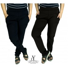 CY 148-1 WOMAN CASUAL PANTS BIG PLUS SIZE SELUAR SIZE BESAR XXXL 4XL