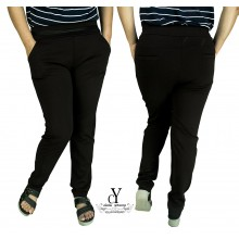CY 148-2 WOMAN CASUAL PANTS BIG PLUS SIZE SELUAR SIZE BESAR XXXL 4XL