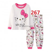 CY 146915 CHILDREN KID PYJAMAS SLEEPWEAR DISNEY CARTOON HELLO KITTY B