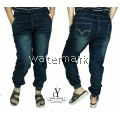 CY 271 WOMAN CASUAL DENIM JEANS JOGGER PANTS PLUS SIZE XXXL